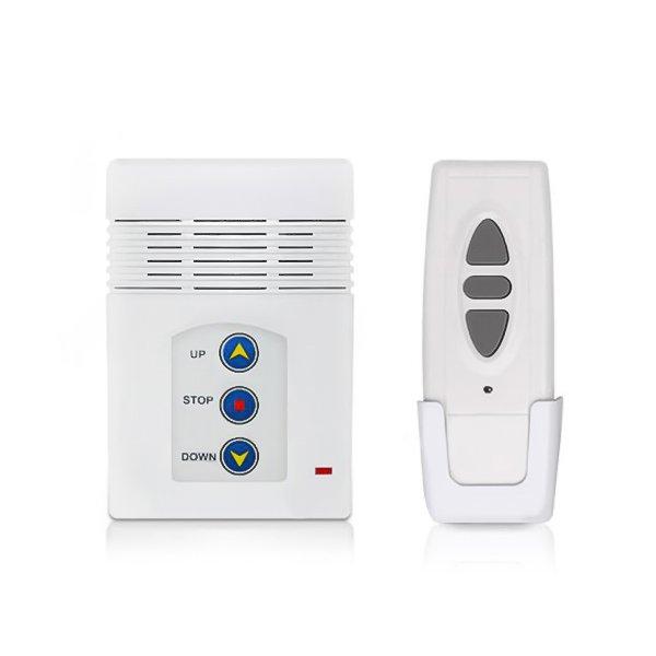Comutador e comando de tela de projecção de suspensão eléctrica